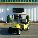 2008 Club Car Precedent Yellow with Rear Seat 10-18-2013