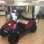 2017 Club Car Precedent Lifted Electric w/ Decked out Monsoon Canopy Top (Speakers,Fans,Lights)