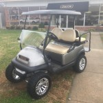 2012 Club Car Lifted Electric Platinum