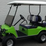 2008 DS Electric - Lime Green and Purple 3 5 14