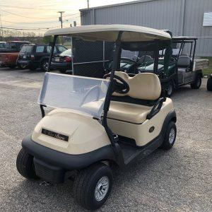 2017 Club Car Precedent Electric Golf Beige